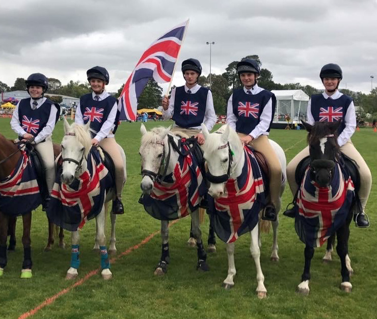 Team GB on ponies