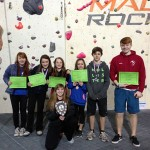Sporting success for the climbing and rugby teams