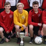 Harrogate & Craven Area Cup won by U16's Boys Football Team