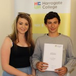 Student success at the Harrogate College Further Education Awards Ceremony