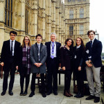 Student Leadership Team visits the Houses of Parliament