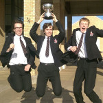 Victory at regional finals of public speaking competition