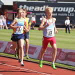 Jacques Maurice 4th in England at 1500M!
