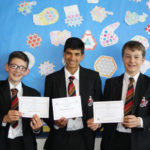 Students celebrate Maths success