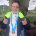 Special Olympics gold medal for Megan