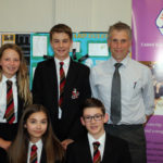 Students in National Maths Challenge final