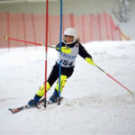Success at indoor ski championships