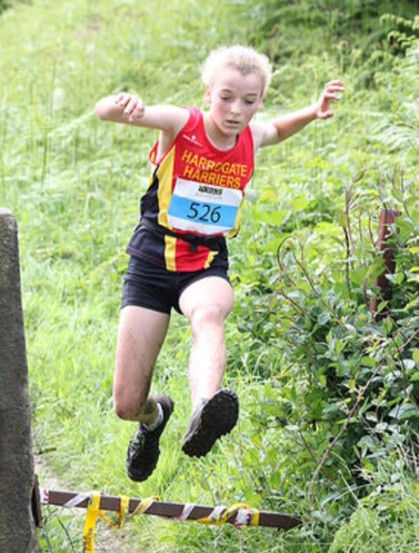 Eve Whitaker fell running champion