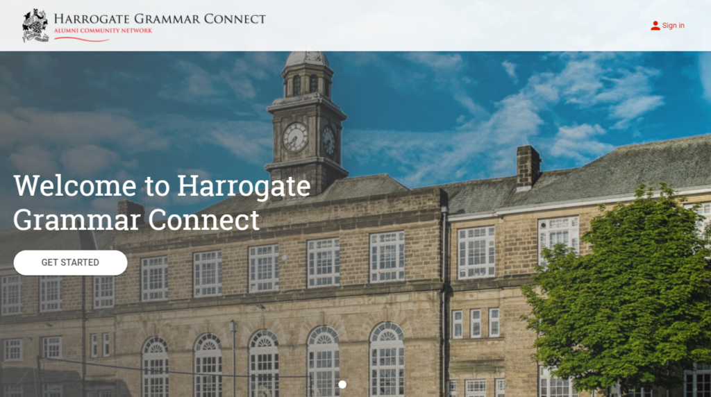 Welcome to Harrogate Grammar Connect - Alumni Community Network