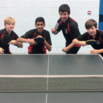 U13 Table Tennis team through to Regionals