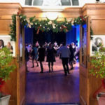 A skirl of pipes welcomed guests to Burns Night