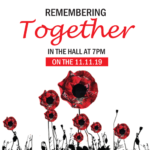 Remembering Together – An evening of remembrance