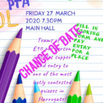 PTA Quiz Night *cancelled*