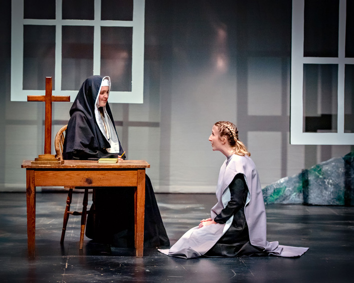 Sound of Music-Mother Abbess&Maria